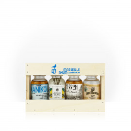 Coffret rhums de Marseille
